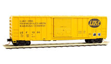 Micro-Trains MTL N LEF&C  50' Rib Box Car 02500950 Rd# 1004 Per Diem #8