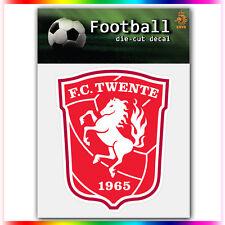"FC Twente UEFA Die Cut Vinyl Sticker Car Bumper Window 4""x3.3"""