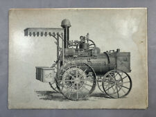 1889 HUBER CATALOG Steam ENGINES Farm THRESHERS Machinery Advertising ANTIQUE