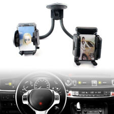 Double Dual in Car Windscreen Suction Mobile Phone Mount Holder Bracket Stand