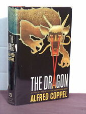 1st, signed by author, The Dragon by Alfred Coppel (1977) Russia/China at war!