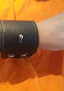 x1heavymetal/195mm-220mm wrist punk/biker/goth/wristband,cuff#137