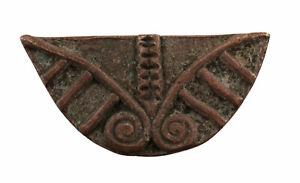 Weight Akan IN Weigh L'Or Brass Art African Ashanti Figure Geometric 659