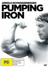 Pumping Iron (DVD, 2015)  Arnold Schwarzenegger  NEW AND SEALED