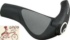 ERGON GP2-S SMALL BLACK/GREY ERGONOMIC BICYCLE GRIPS