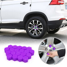 20PCS 19mm Car Hub Screw Cover Car Wheel Nut Lug Dust Cover Caps Bolt Rims Tire