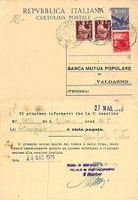 lire 8 dem. Banca Pop. VALDAGNO Cassa Risp Ferrara sede PORTOMAGGIORE (R-L 149)