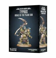 Typhus, Herald of the Plague God Death Guard Chaos Warhammer 40K NIB Flipside