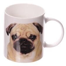 1 Kaffeebecher Mops Tasse Tassen Kaffeetassen Porzellan Hund Haustier neu