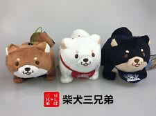 """6''x5"""" Amuse Doge Kabosu Shiba Inu Puppy Doll Plush Stuffed Figure SK Japan"""