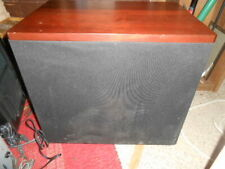 """USED WORKING """"EDGE AUDIO"""" DOWNFIRING POWERED SUBWOOFER~10 inch woofer"""