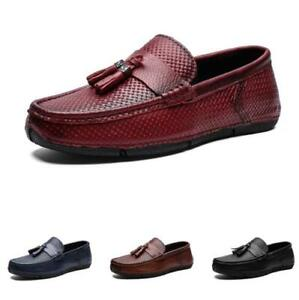 Mens Business Leisure Shoes Pumps Slip on Loafers Driving Moccasins Soft Comfy