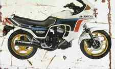 Honda CX650 Turbo 1983 Aged Vintage SIGN A4 Retro