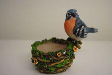 Teelichthalter Kerzenhalter Vogel mit Nest Kerze gedeckter Tisch Teelichter Neu