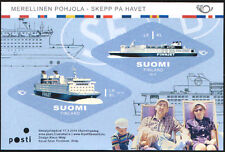 Finland 2014  GTS Finnjet, Cruiseferry, Sheet,  MNH