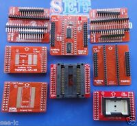 8 Adapters/set  TSOP32/40/48 SOP44 SOP56 Adapters for TL866CS TL866A programmer
