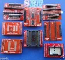 8 Adapters/set  TSOP32/40/48,SOP44,SOP56 Adapters for TL866CS,TL866A programmer