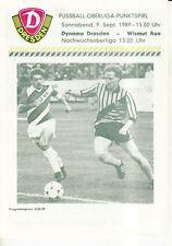 OL 89/90 SG Dynamo Dresden - BSG Wismut Aue