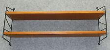 True Vintage STRING DESIGN REGAL 2x Böden 2x Leitern *Mid Century Shelf 60s 70
