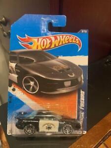 2011 Hot Wheels HW Main Street Pontiac Firebird #163 Black