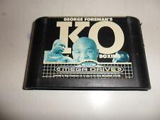 Sega Mega Drive  George Foreman's KO Boxing