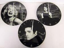 Orologi da parete ovale in vetro