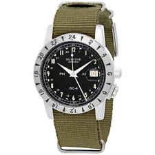 Glycine Airman 1953 Vintage Automatic Black Dial Men's GMT Watch GL0217