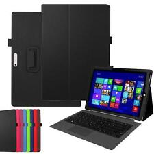 """NEU For Microsoft Surface Pro 4 12.3"""" Tablet Leder Case Cover Stand Hulle Tasche"""