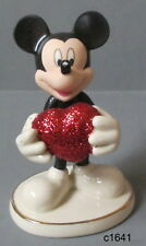 Lenox Disney - Love Struck Mickey Mouse Figurine - New In Box