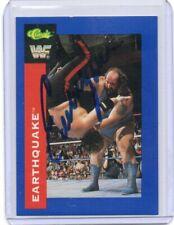 EARTHQUAKE 1991 CLASSIC AUTOGRAPH CARD HAND SIGNED RARE! WWF SUPERSTAR