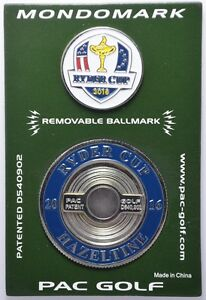 2016 RYDER CUP (Hazeltine) MONDOMARK Commemorative Coin - GOLF BALL MARKER