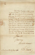 RARE  Autograph Letter Signed - 1760 - Peter Silvester - Politician Patriot ALS