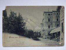 ABBAZIA Gruss aus ISTRIA Opatija Hotel Quarnero vecchia cartolina