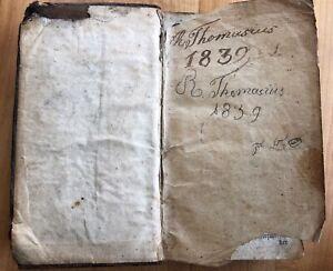 1839 Ev. Gebets- Andachts- Anleitungs- und Psalmenbüchlein 1839 R. Thomasius