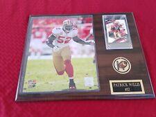 NFL 12x15 in. Patrick Willis San Francisco 49ers Plaque