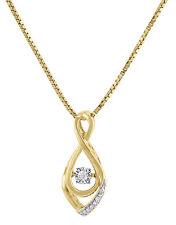 Halsketten aus Gelbgold mit Diamanten