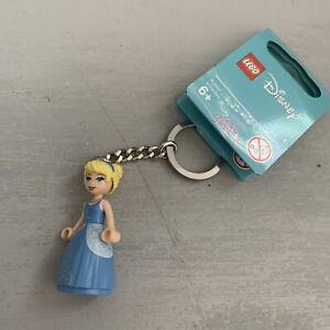 Lego 853781 Disney Princess Cinderella Minifigure Key Chain Keychain New