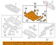 KIA OEM 14-18 Forte Floor Rails-Rear-Spare Tire Panel 65520A7010