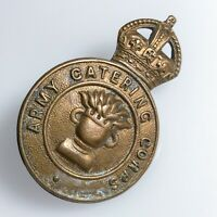 WW2 Army Catering Corps Military Cap Badge : 03/24