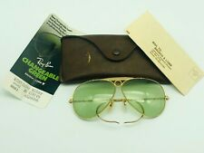 Ray Ban B&L USA Changeable Green Shooter 62mm Sunglasses