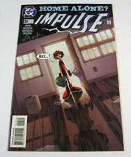 Impulse #26 Signed by Wayne Faucher! Home Alone DC COMICS 1997 FLASH CW TV SHOW