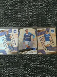 Panini Revolutions Soccer Brighton Lot (3 Cards)