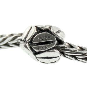 Authentic Trollbeads Sterling Silver 11154 Mocha, Silver :1
