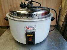 More details for no209  buffalo cb944-02 rice cooker  10 litres of dry rice / 23 litres cooked