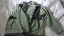 Ladies Outer Boundary Two Toned Green Polyester Jacket Large