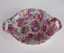 Candy Dish Lord Nelson Marina Chinz flowers vintage earthenware England