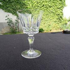 verre à porto en cristal de baccarat modèle piccadilly