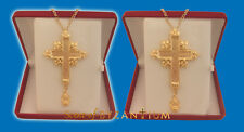 Orthodox Pectoral Crucifix Cross Engraved Orthodoxes Pektorale Kruzifix Kreuz