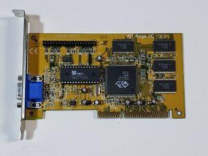 CR2CSD VER:1.0 ATI Rage IIC AGP legacy vintage graphics card (1996)
