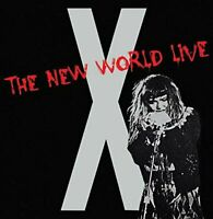 X - The New World Live (2015)  2CD  NEW/SEALED  SPEEDYPOST